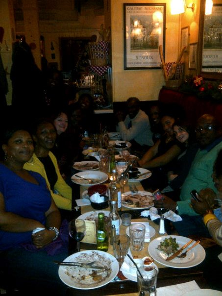IDMC Christmas party @ Cafe Rouge