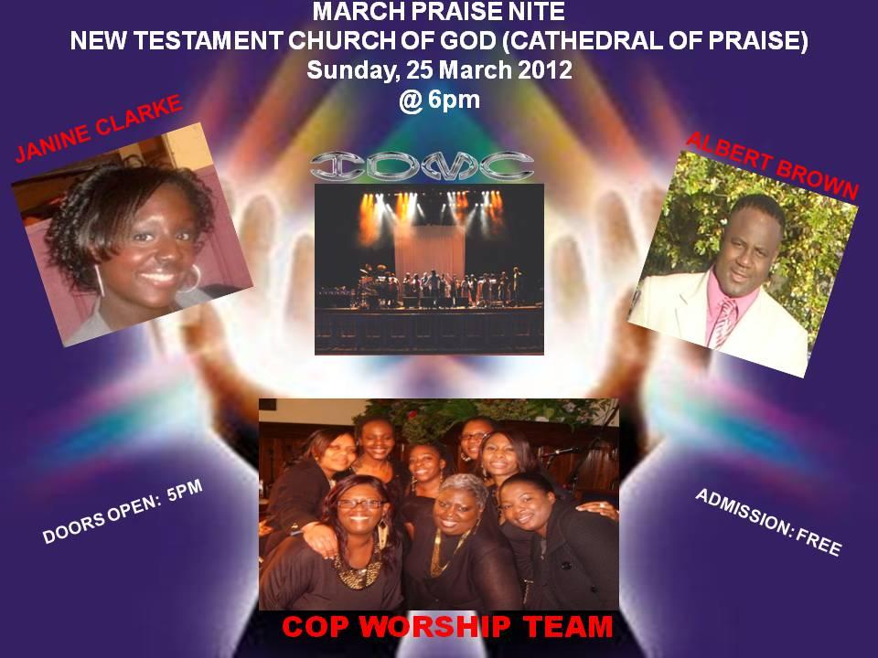 IDMC Live @ NTCG C.O.P Woodgreen